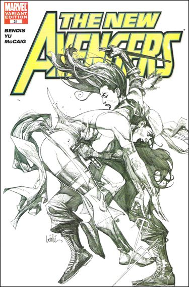 New Avengers (2005) 31-B by Marvel