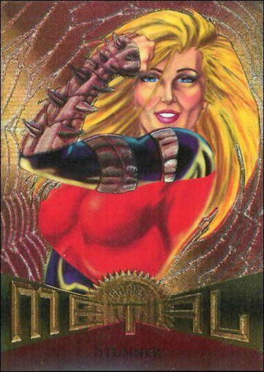 Marvel Metal (Base Set) 79-A by Fleer