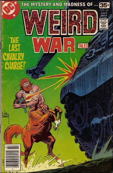 Weird War Tales (1971) 65-A by DC
