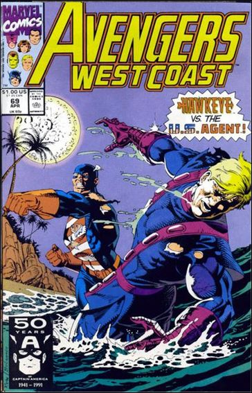 Avengers West Coast 69-A by Marvel