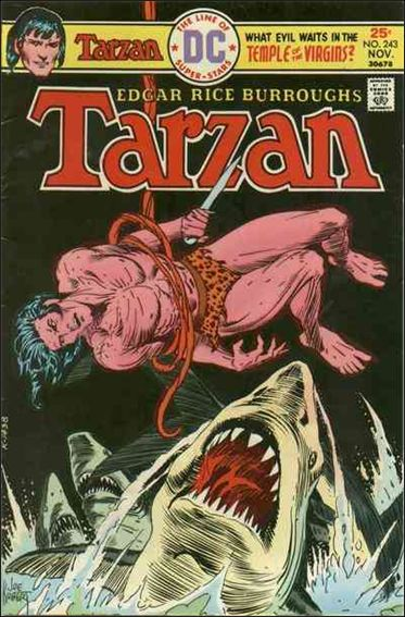 Tarzan (1972) 243-A by DC