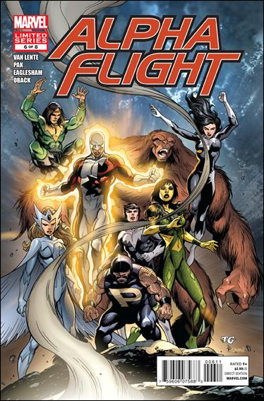 Alpha Flight (2011) 6-A by Marvel