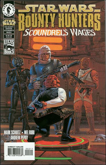 Star Wars: The Bounty Hunters - Scoundrel's Wages nn-A by Dark Horse