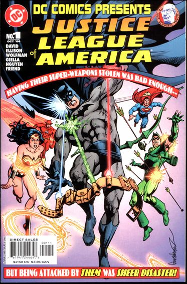 DC Comics Presents: Justice League of America 1-A by DC
