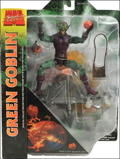 Marvel Select Green Goblin with Glider Base by Diamond Select