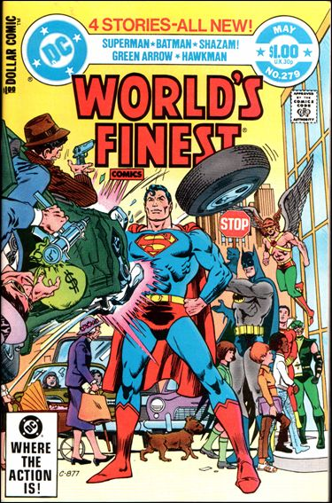 World's Finest Comics 279-A by DC