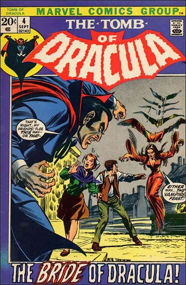 Tomb of Dracula (1972) 4-A by Marvel