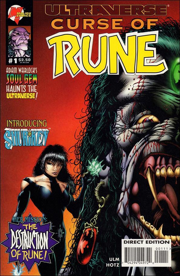 Curse of Rune 1-A by Malibu