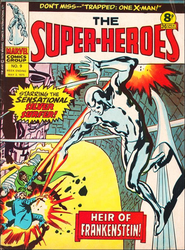 Super-Heroes (UK) 9-A by Marvel UK