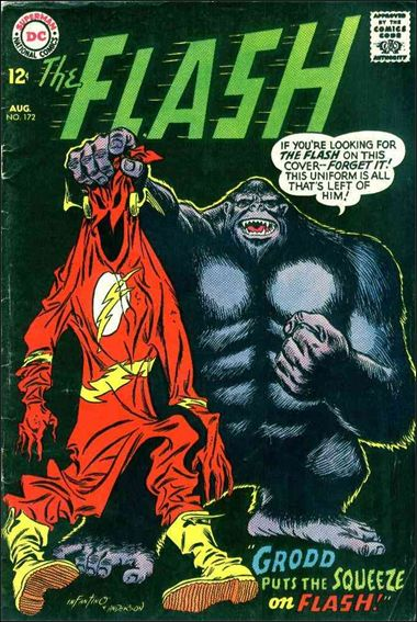 Flash (1959) 172-A by DC