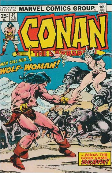 Conan the Barbarian (1970) 49-A by Marvel