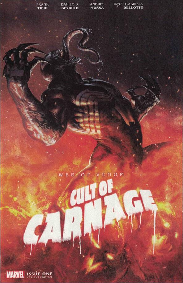 Web of Venom: Cult of Carnage 1-C by Marvel