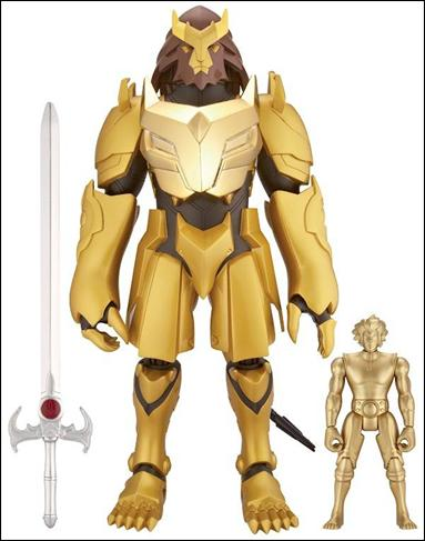 Thundercats Action Figures 2011 on Thundercats  2011  12  Series Armor Of Omens W  Exclusive 4  Lion O By