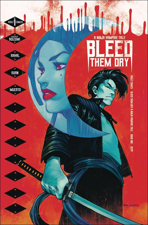 Bleed Them Dry 1-A by Vault Comics