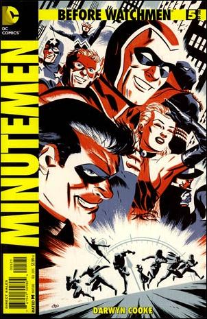 Before Watchmen: Minutemen 5-D by DC