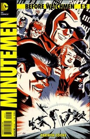 Before Watchmen: Minutemen 5-D