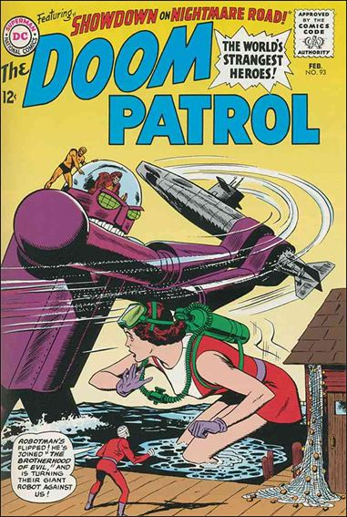 Doom Patrol (1964) 93-A by DC
