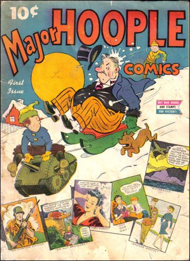 Major Hoople Comics 1-A by Standard
