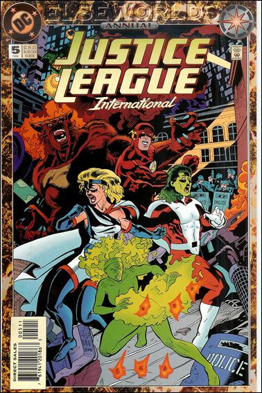 Justice League International Annual (1988) 5-A by DC
