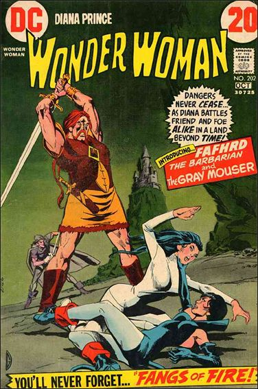 Wonder Woman (1942) 202-A by DC