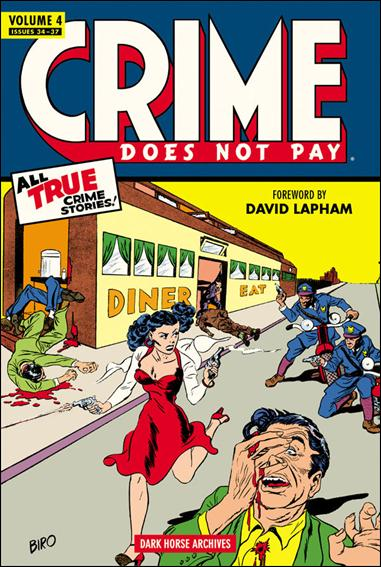 Crime Does Not Pay Archives 4-A by Dark Horse
