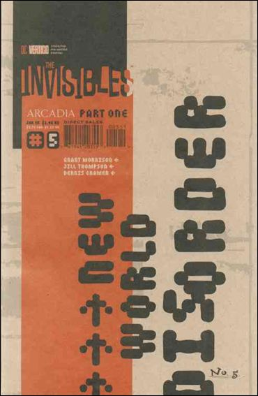 Invisibles (1994) 5-D by Vertigo