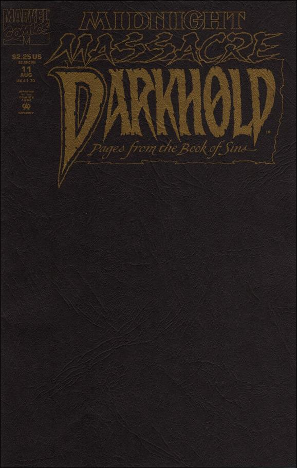 Darkhold: Pages From the Book of Sins 11-A by Marvel