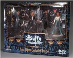 Buffy the Vampire Slayer (Boxed Sets) Master, Buffy and Angel by Moore Action Collectibles