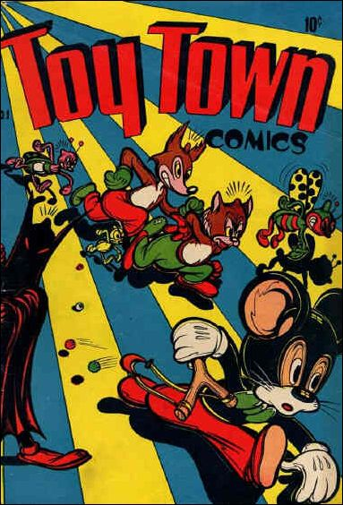 Toy Town Comics  1-A by Toytown