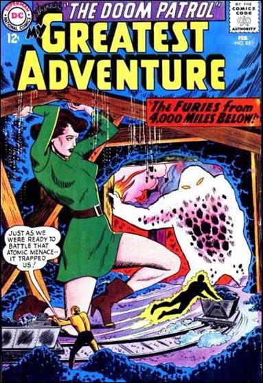 My Greatest Adventure (1955) 85-A by DC