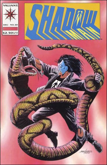 Shadowman (1992) 20-A by Valiant