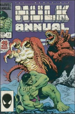 Incredible Hulk Annual  13-A