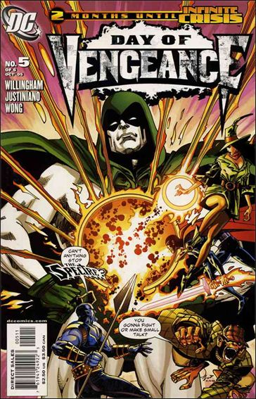 Day of Vengeance 5-A by DC
