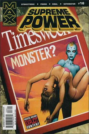 Supreme Power (2003) 16-A by Max