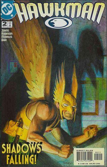 Hawkman (2002) 2-A by DC
