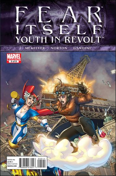 Fear Itself: Youth In Revolt 5-A by Marvel