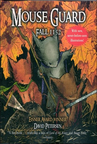 Mouse Guard: Fall 1152 1-A by Villard