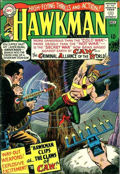 Hawkman (1964) 10-A by DC