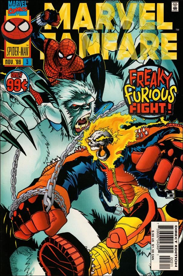 Marvel Fanfare (1996) 3-A by Marvel