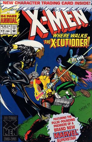 Uncanny X-Men Annual 17-A