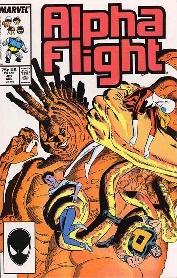 Alpha Flight (1983) 49-A by Marvel