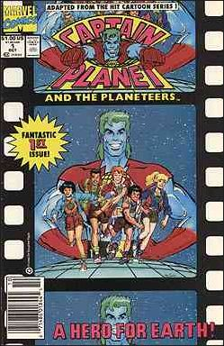 Captain Planet and the Planeteers 1-A by Marvel