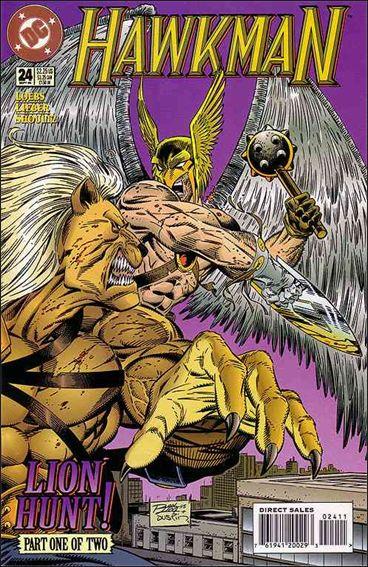 Hawkman (1993) 24-A by DC