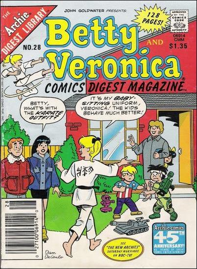 Betty and Veronica Comics Digest 28-A by Archie