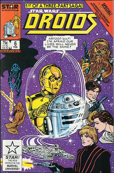 Droids (1986) 6-A by Star