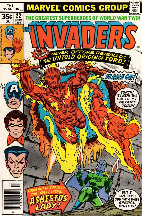 Invaders (1975) 22-A by Marvel