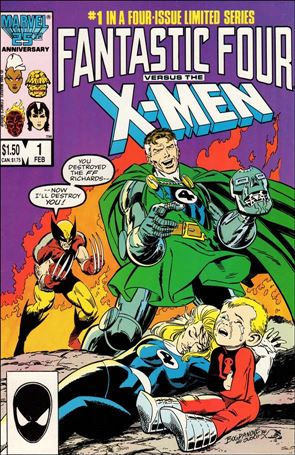 Fantastic Four vs X-Men 1-A