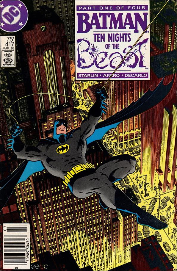 Batman (1940) 417-A by DC