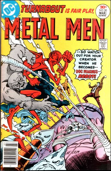 Metal Men (1963) 50-A by DC