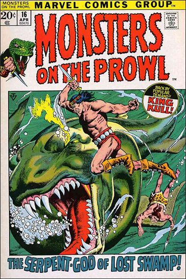 Monsters on the Prowl 16-A by Marvel